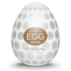 Tenga Egg Crater - Jajka do masturbacji Krater (6 szt.)