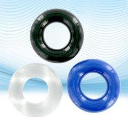 XLsucker - Trzy pierścienie na penisa - Stretchy Cockrings