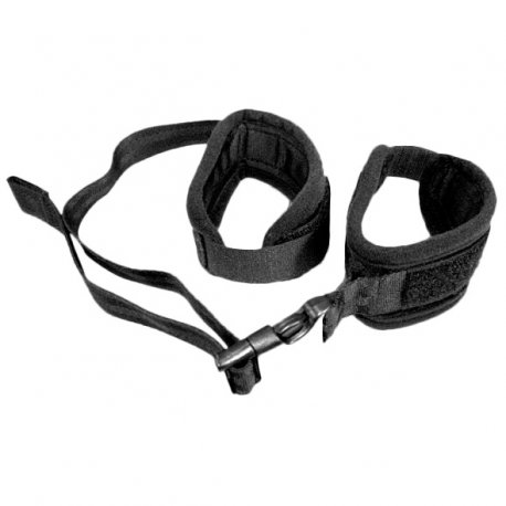 Kajdanki regulowane - S&M Adjustable Handcuffs