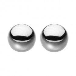 Kulki waginalne ze stali wysokiej jakości - S&M Steele Balls