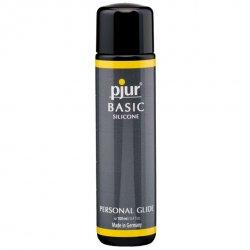 Środek nawilżający - Pjur Basic Silicone 100 ml