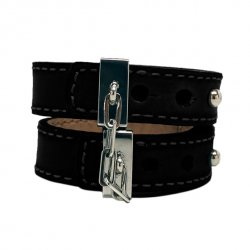 Skórzane kajdanki - Crave Leather Cuffs