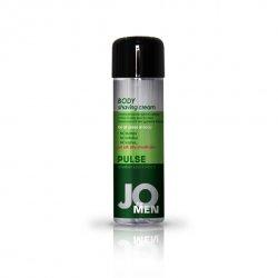Krem do golenia dla mężczyzn - System JO Men Shaving Cream Cucumber 240 ml Ogórek