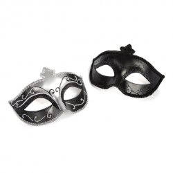 Fifty Shades of Grey - Maska karnawałowa Masquerade Mask Twin Pack Dwupak