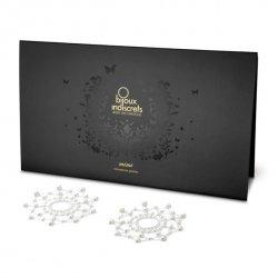 Nakładki na sutki - Bijoux Indiscrets Mimi Pearl Perła