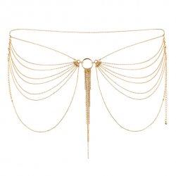Biżuteria pasek - Bijoux Indiscrets Magnifique Waist Jewelry Gold