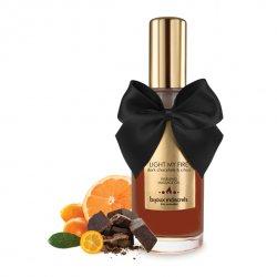 Olejk do masażu rozgrzewający jadalny - Bijoux Cosmetiques Dark Chocolate Warming Oil Ciemna Czekolada