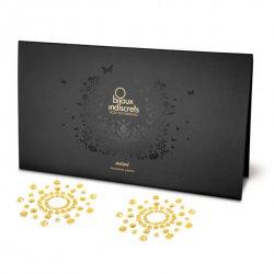 Nakładki na sutki - Bijoux Indiscrets Mimi Gold Złote