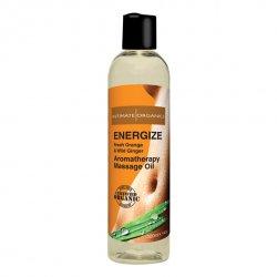 Energetyzujący olejek do masażu - Intimate Organics Energize Massage Oil 120 ml