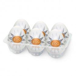 Japoński masturbator - Tenga Egg Shiny 6szt