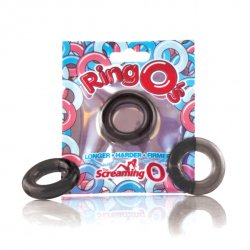 Pierścień erekcyjny - The Screaming O The RingO Black
