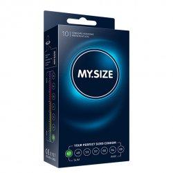 My Size. Prezerwatywy na wymiar - rozmiar 47 - 10 sztuk