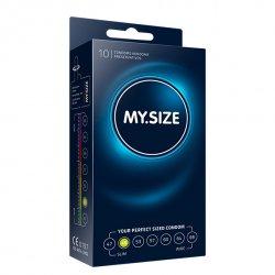My Size. Prezerwatywy na wymiar - rozmiar 49 - 10 sztuk