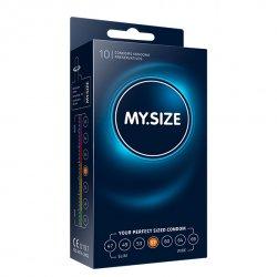 My Size. Prezerwatywy na wymiar - rozmiar 57 - 10 sztuk