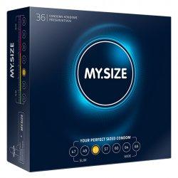 My Size. Prezerwatywy na wymiar - rozmiar 53 - 36 sztuk