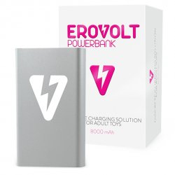 Powerbank - EroVolt PowerBank Silver