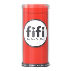 Masturbator plus 5 wkładek - Fifi Masturbator Red With 5 Sleeves