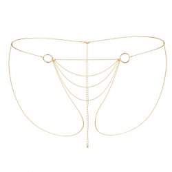 Łańcuszki jak bikini - Bijoux Indiscrets Magnifique Bikini Chain Gold