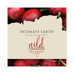 Środek nawilżający - Intimate Earth Oral Pleasure Glide Wild Cherry Foil 3 ml SASZETKA