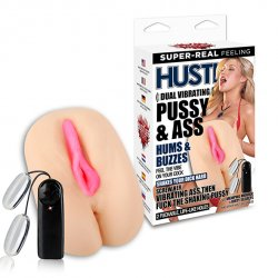 Masturbator - Hustler Dual Vibrating Pussy & Ass