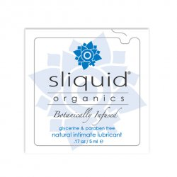 Tester SASZETKA lubrykant - Sliquid Organics Natural Lubricant Pillow 5 ml