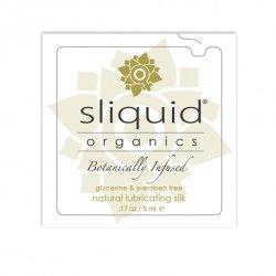 Tester SASZETKA lubrykant - Sliquid Organics Silk Lubricant Pillow 5 ml