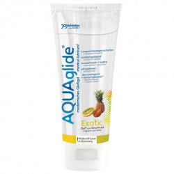 Lubrykant smakowy - Joydivision AQUAglide Lubricant Exotic 100 ml