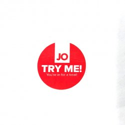 Naklejka - System JO Label JO Try Me Stickers