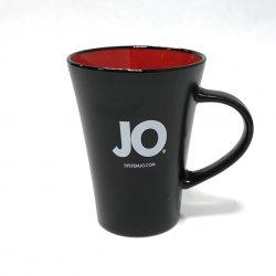 Kubek firmowy - System JO Ceramic Mug Black and Red