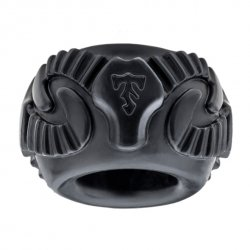 Pierścień na penisa - Perfect Fit Ram Ring Black