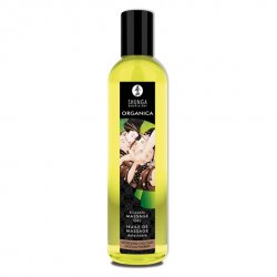 Olejek do masażu organiczny - Shunga Massage Oil Organic Chocolat Czekolada