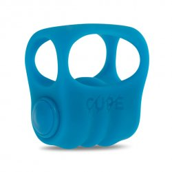 Wibrator palcowy niebieski CUPE - Finger Fighter Big Blue