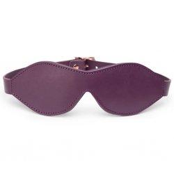 Opaska na oczy - Fifty Shades of Grey Freed Cherished Collection Leather Blindfold