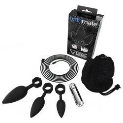 Zestaw wibrujacych korków analnych - Bathmate Anal Training Plugs Vibe