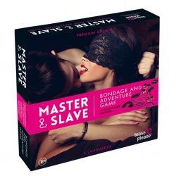 Gra erotyczna z akcesoriami - Master & Slave Bondage Game