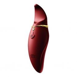 Masażer - Zalo Hero G-Spot Pulsewave Vibrator Wine Red